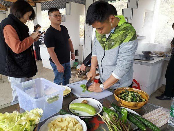 切菜很忙的