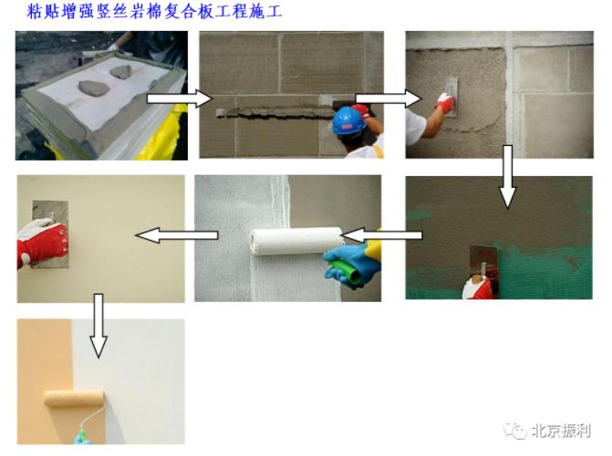 岩棉复合板施工流程