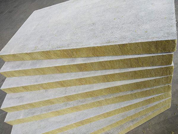 增强竖丝岩棉复合板